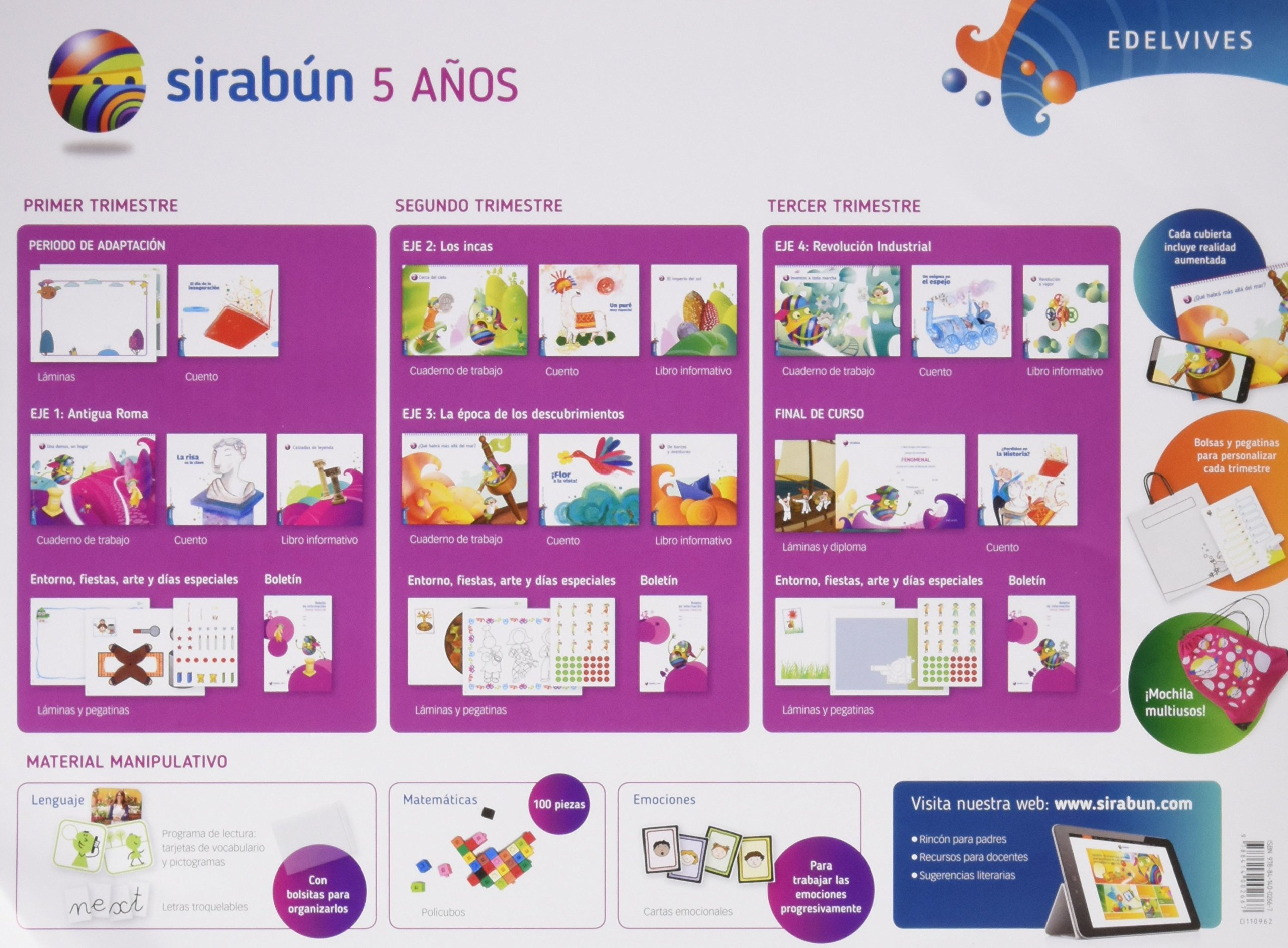 Sirabun- 5 años - 9788414002667: Amazon.es: Rosa María Iglesias Iglesias, Manuela Corrales Peral, Rosa María Corrales Peral, Marisol Justo de la Rosa, ...