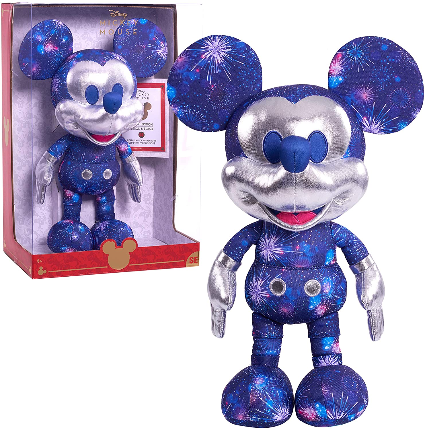 Limited Edition Disney Fantasy in the Sky Mickey Mouse Plush, Amazon Exclusive