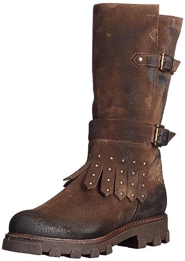 Manas 172M6105EX, Rangers Boots Femme, Marron (T.Moro T.Moro), 38 EU