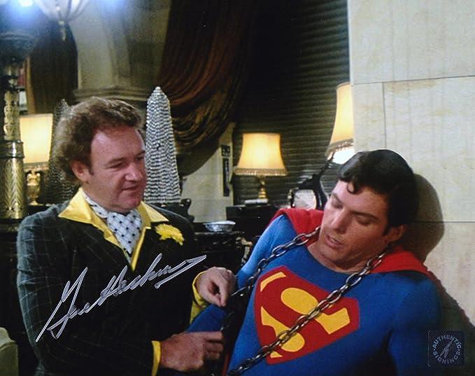 "Gene Hackman ""Lex Luthor"" Autographed Superman 8x10 Photo w/ Christopher  Reeve at Amazon's Entertainment Collectibles Store"