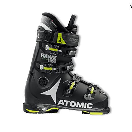 Amazon.com   Atomic Hawx Magna 100 Ski Boots Black Lime 25.0 25.5 ... 227d0a70e