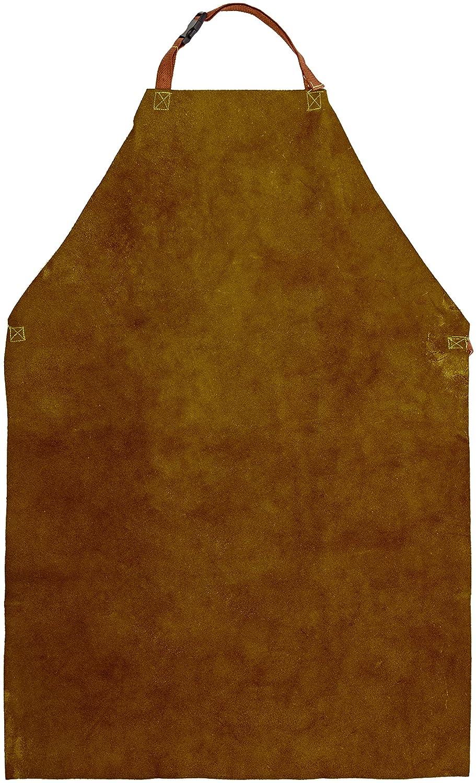 Prossor W103 GOLD Chrom-Leder-Schü rze, 61 x 91 cm W103 GOLD 24 X 36