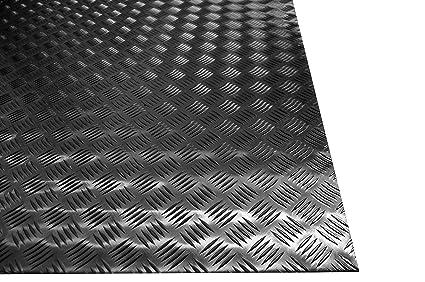 Lamiera Mandorlata Alluminio Spessore 2 Mm Dim 750x1500 Mm Lega