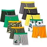 Spotted Zebra 10-Pack Boxer Brief Underwear Niños, Pack de 10
