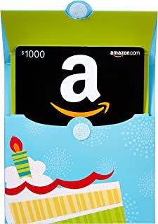 Gift Cards in a Birthday Reveal (Classic Black Card Design)