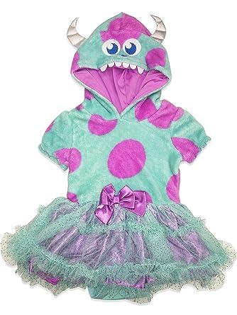 d1d206b49 Amazon.com: Disney Pixar Monster's Inc. Sulley Infant Baby Girls' Costume  Bodysuit Dress 12M: Clothing