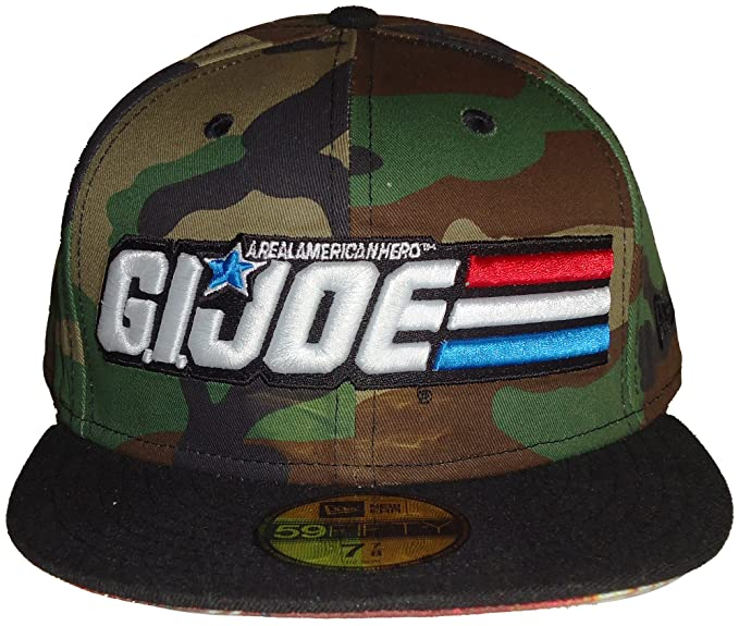 31b2ab876f2 New Era GI Joe Sub Under Official Logo Army Camo 59FIFTY Fitted Cap Hat (7