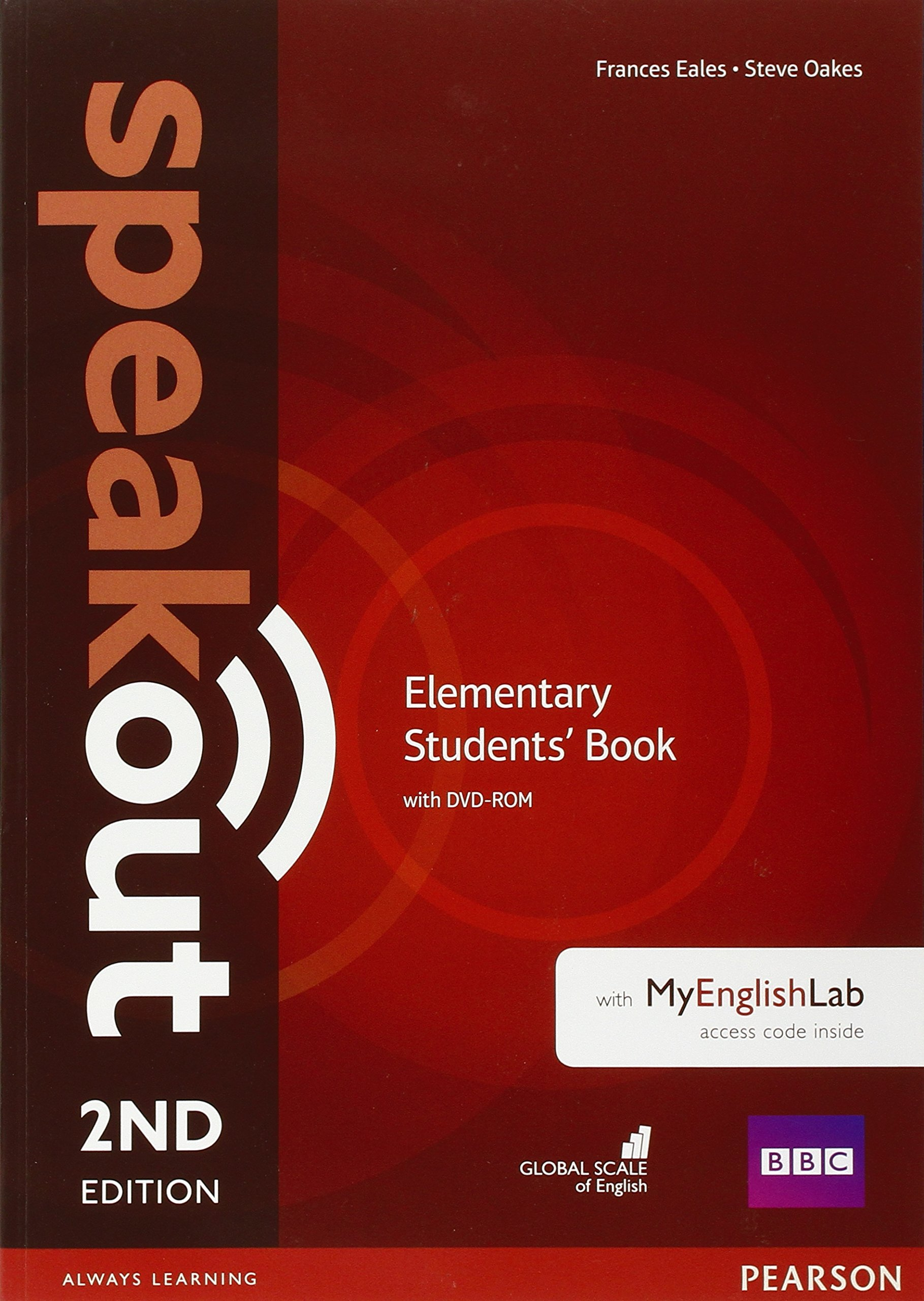 Speakout elementary 2nd edition students book with dvd rom and speakout elementary 2nd edition students book with dvd rom and myenglishlab access code pack antonia clare j j wilson frances eales steve oakes fandeluxe Images