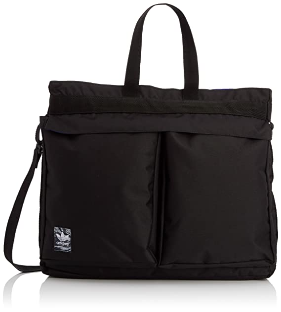 Nero blacknight Borsa Uomo Shopper Street Adidas Flash Classic vAPxwHWq6
