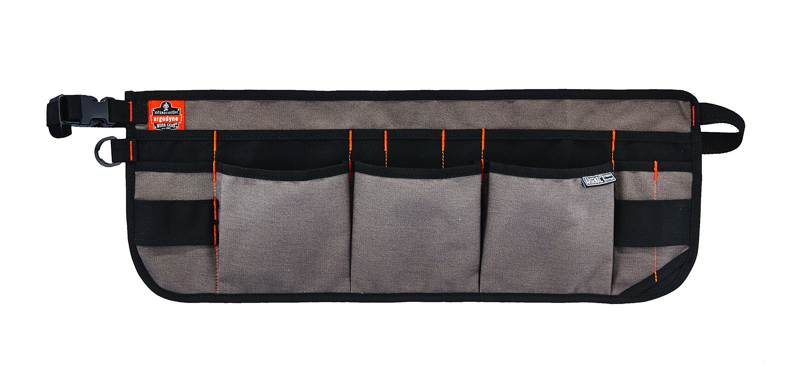 Ergodyne Arsenal 5707 Tool Work Waist Apron, 14-Pockets, Gray