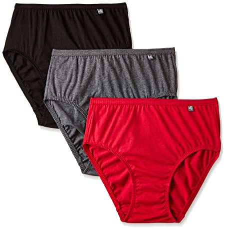 Jockey Women's Cotton Hipster (Pack of 3) (Colors may vary) Hipsters at amazon