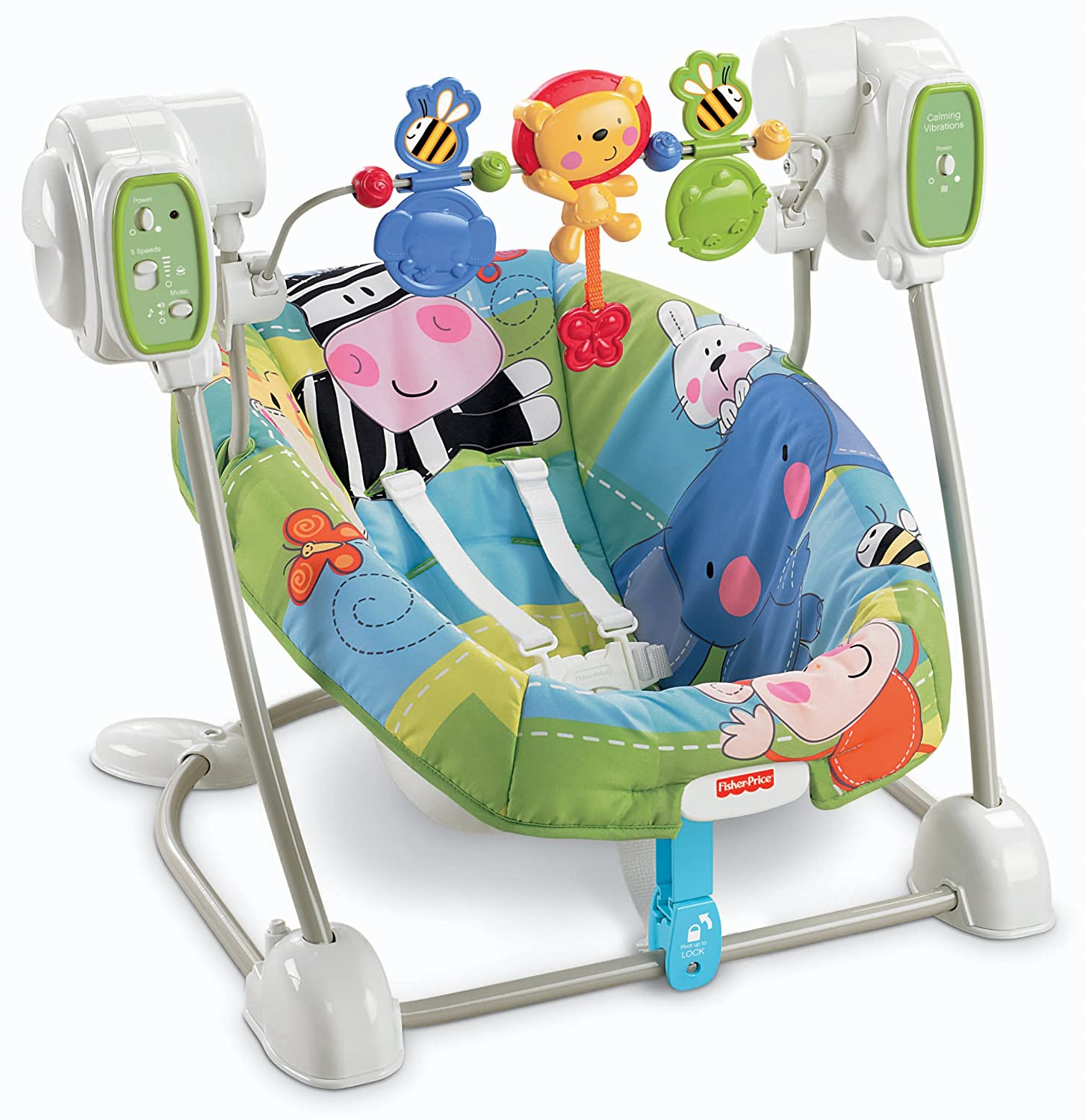 Amazon Fisher Price Space Saver Swing and Seat Discover N