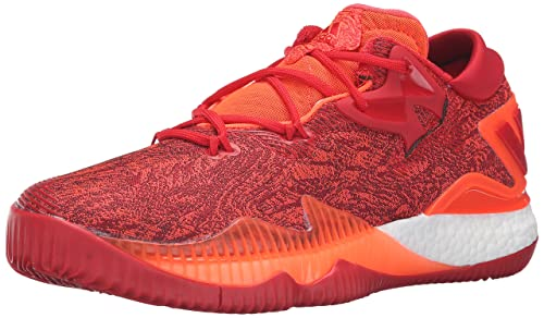1a5b83ab Adidas Men's Crazylight Boost Low 2016 Basketball Shoe, Solar Red/Light  Scarlet/Infrared