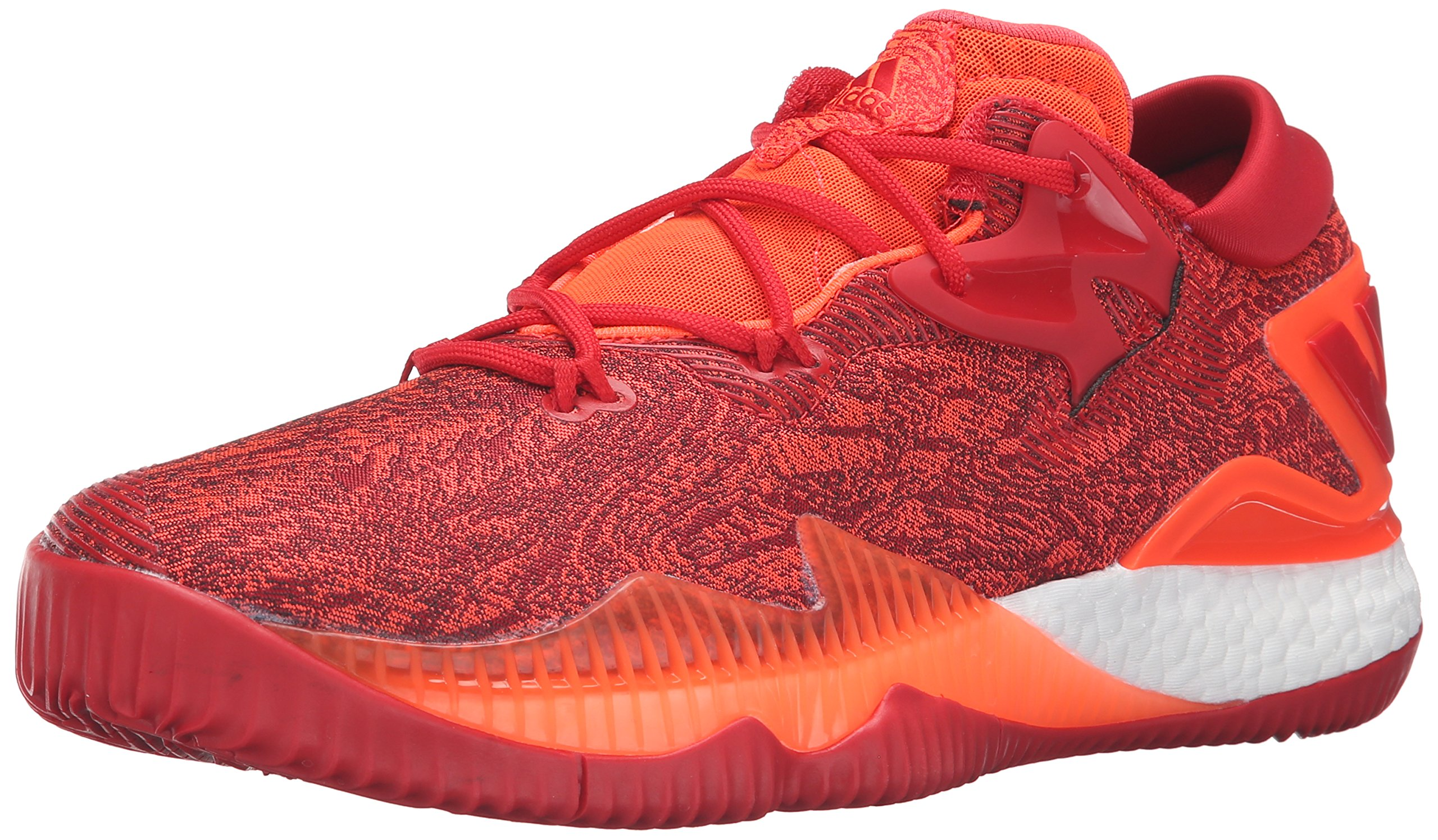 brand new 7eb74 1174a Galleon - Adidas Men s Crazylight Boost Low 2016 Basketball Shoe Solar Red Light  Scarlet Infrared 12 M US