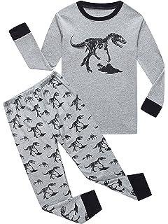 IF Pajamas Little Boys Sleepwears Set 100% Cotton Clothes Toddler Kid