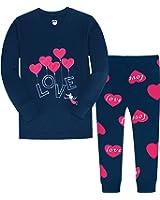 Little Girls Clothes Heart Cotton Sleep Pajamas Cartoon Sets Christmas Children PJs