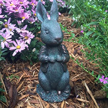 Amazon.com: Peter Rabbit Garden Statue   The Beatrix Potter Collection:  Home U0026 Kitchen