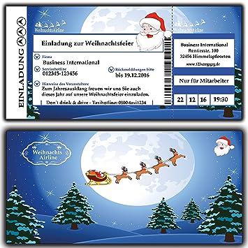 Weihnachtsfeier Einladung Text Lustig.Einladungskarten Einladung Zur Weihnachtsfeier Weihnachtskarten Weihnachtsessen Für Firmen Vereine Kita Kindergarten Grunschschule Schule