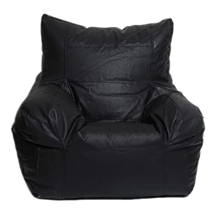 Phenomenal Jmd Arts N Designs Leather Bean Bag Cover Arm Chair Without Theyellowbook Wood Chair Design Ideas Theyellowbookinfo