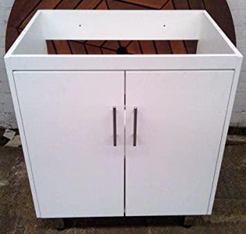 WHITE VANITY UNIT  BATHROOMS AND KITCHENS  WOOD  WITHOUT SINK TOP  LIMITED  OFFER. WHITE VANITY UNIT  BATHROOMS AND KITCHENS  WOOD  WITHOUT SINK TOP
