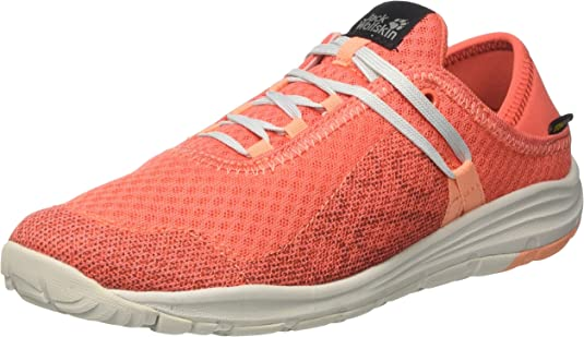 Jack Wolfskin Seven Wonders Packer Low W Zapatillas sin cordones Mujer, Naranja (Hot Coral), 37.5 EU (4.5 UK): Amazon.es: Zapatos y complementos