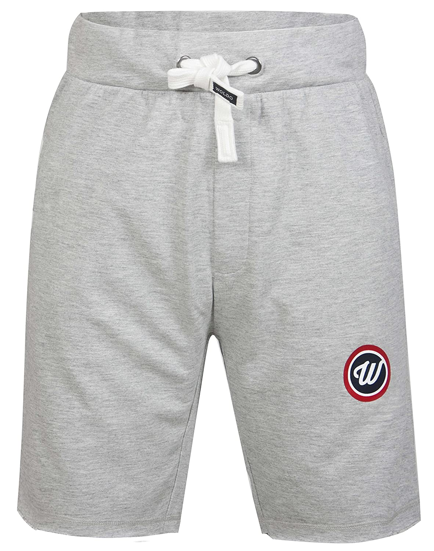 WOLDO Athletic Herren Sweatshorts Sport Fitness Freizeit Gym Shorts Trainingshose Kurze Hose Slim Fit