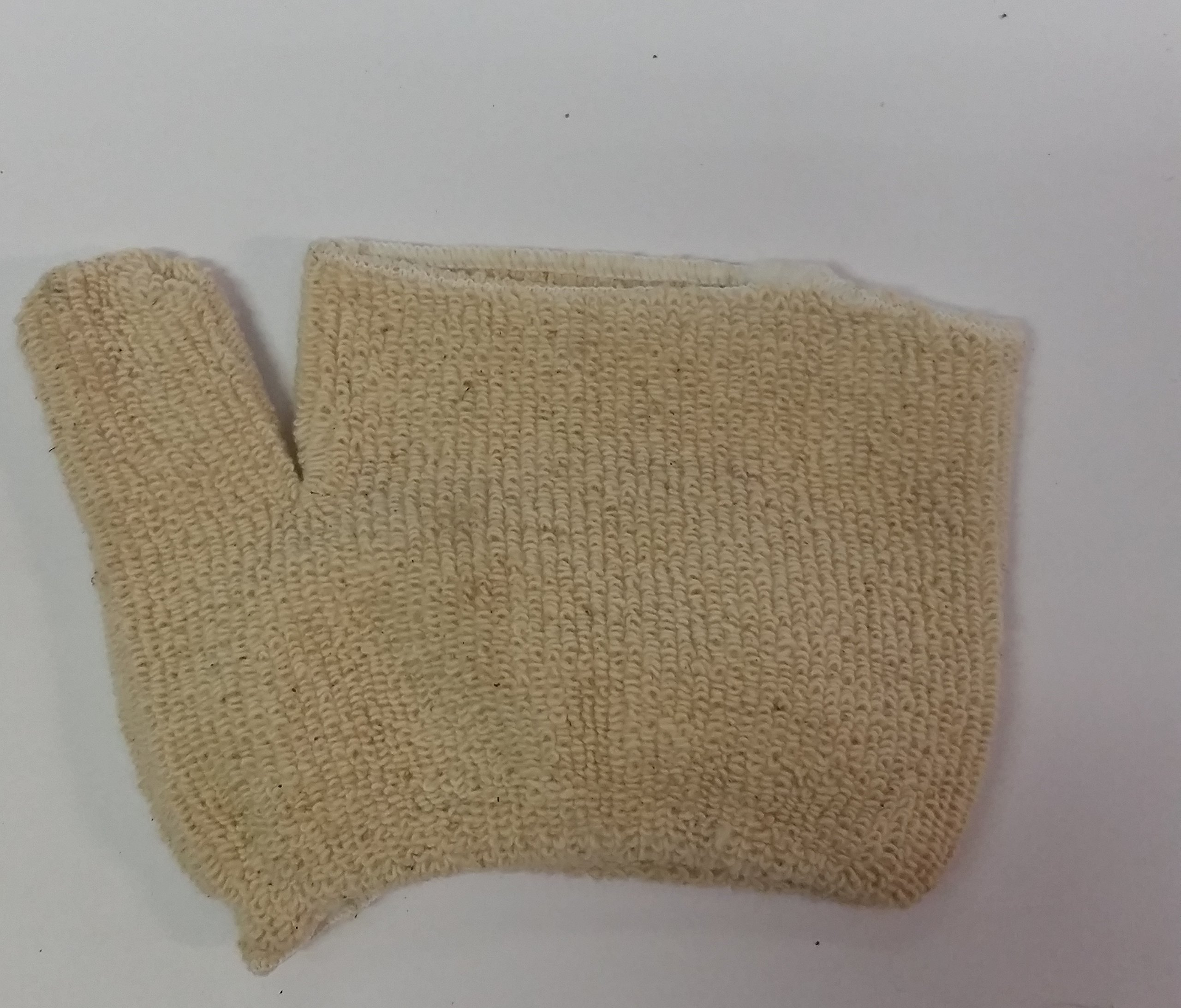 24-Oven Glove Heavy Teri-Loop-Cut elastic wrist Approximately 450°F protection by Raja Industries