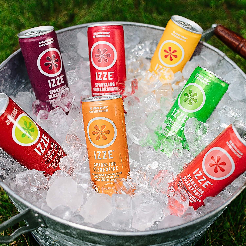 现有IZZE 果味汽水,直接喝或用来调鸡尾酒都超赞