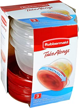 3-Pk. Rubbermaid TakeAlongs 2-Cup Twist