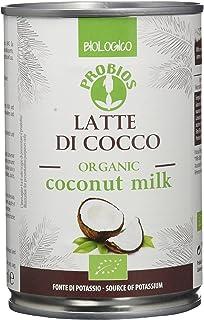 Probios Leche de Cocos - Paquete de 6 x 400 ml - Total: 2400 ml