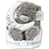 """Me to You SG01W4100 9-Inch Tall """"Tatty Teddy Signature Collection Love You to The Moon And Back Sits"""" Plush Toy"""