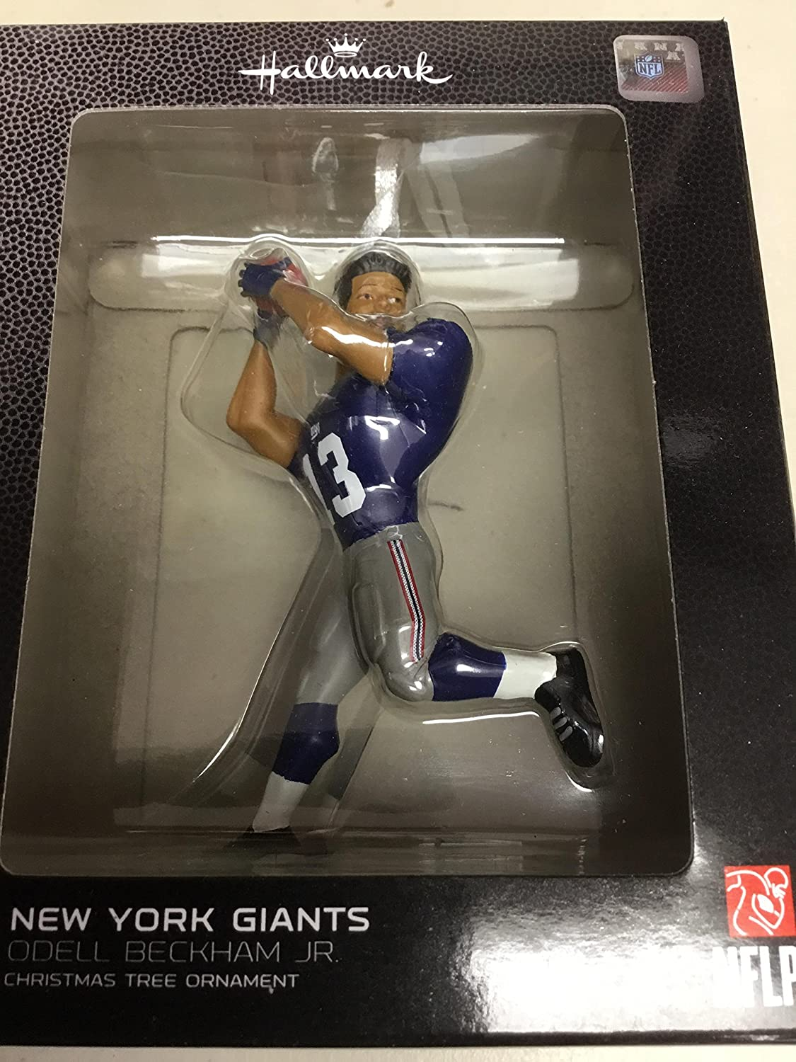 Amazon.com: Hallmark NFL New York Giants Odell Beckham Jr. Christmas ...