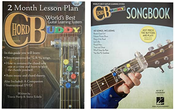 Amazon.com: Chord Buddy Guitar Learning System Works On Acoustic And ...