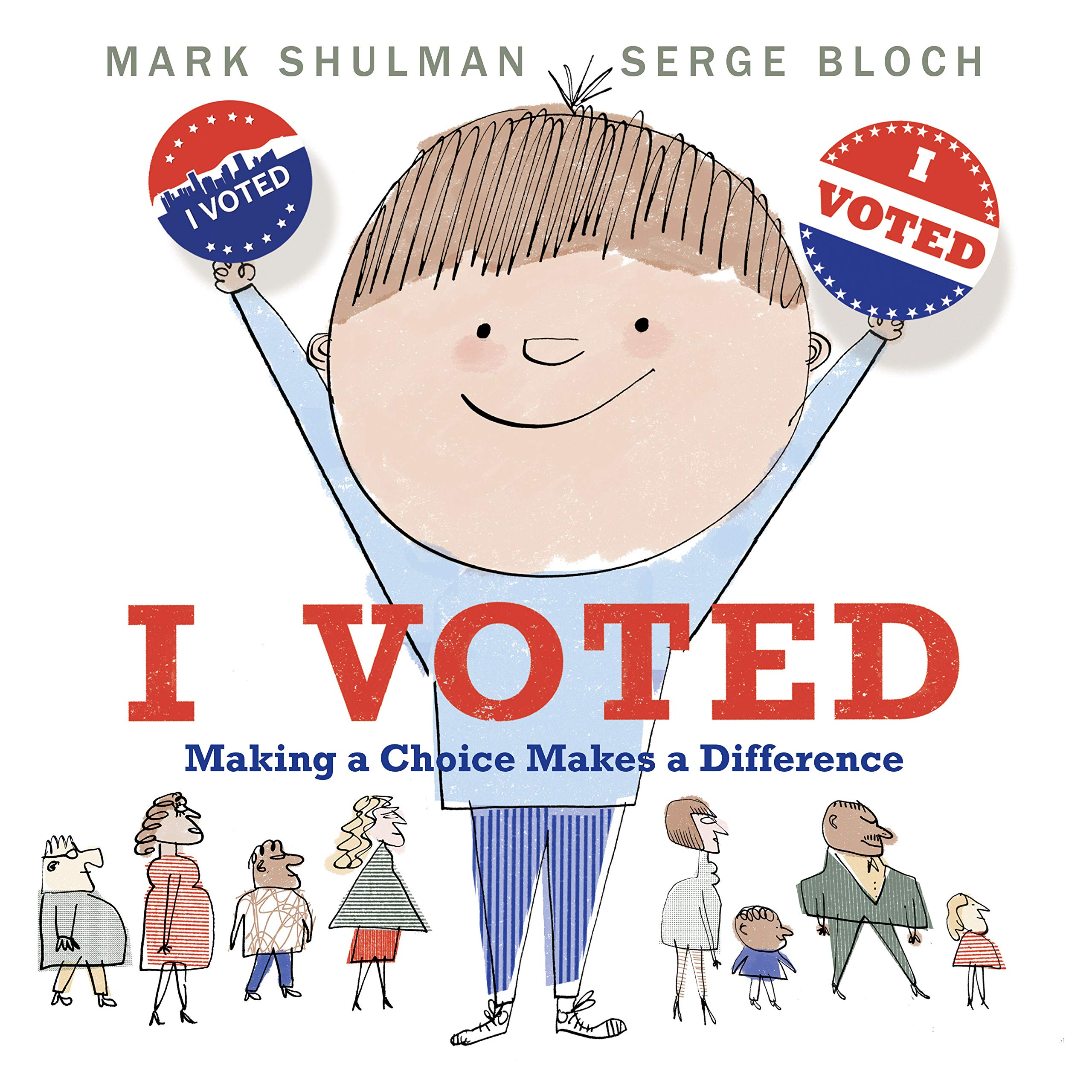 Image result for i voted shulman amazon""