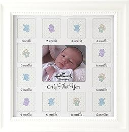 Hallmark Collectible Photo Frame (Baby's 1st Year Wood, 10x10)