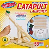 Citiblocs Wood Engineer Catapult Launcher