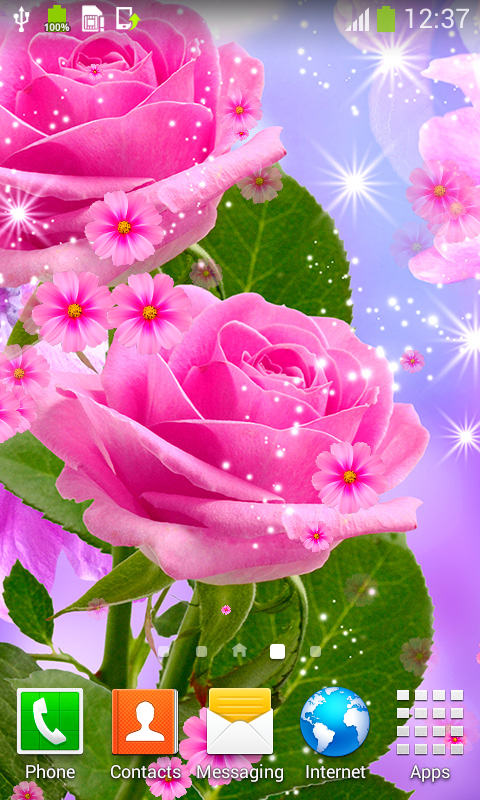 Amazon Com Glow Flower Live Wallpapers Appstore For Android