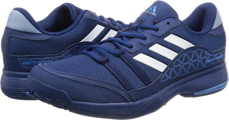 Adidas Barricade Court- Zapatillas de tenis para hombre (45 1/3): Amazon.es: Deportes y aire libre