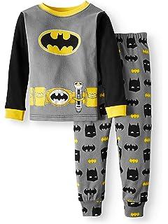 db7d698b Amazon.com: Toddler Boys Batman Jogger Set - DC Comics Batman Long ...