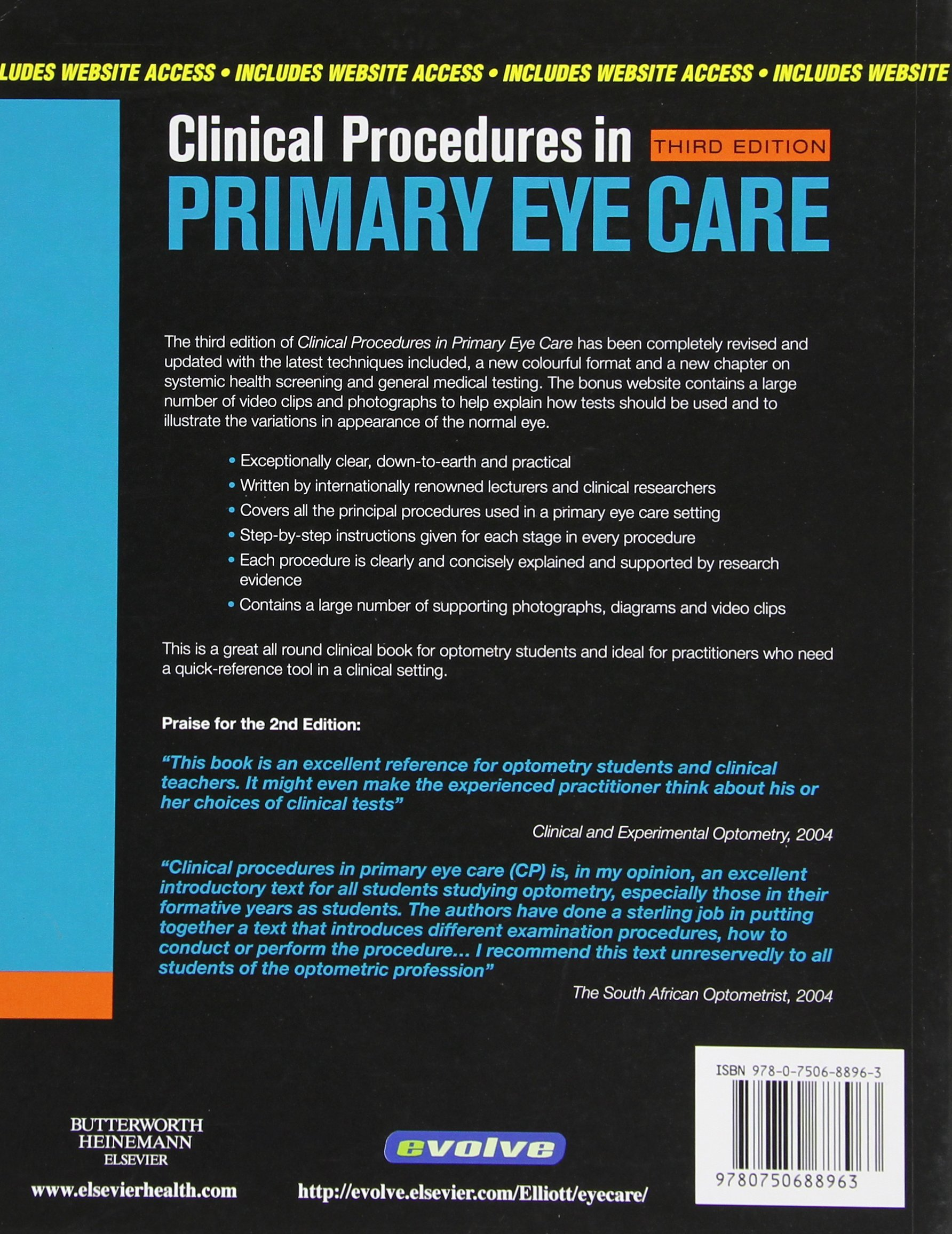 045398fa13b Clinical Procedures in Primary Eye Care