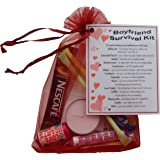 Boyfriend Survival Kit Gift Great Novelty Present For Valentines Birthday Christmas Anniversary