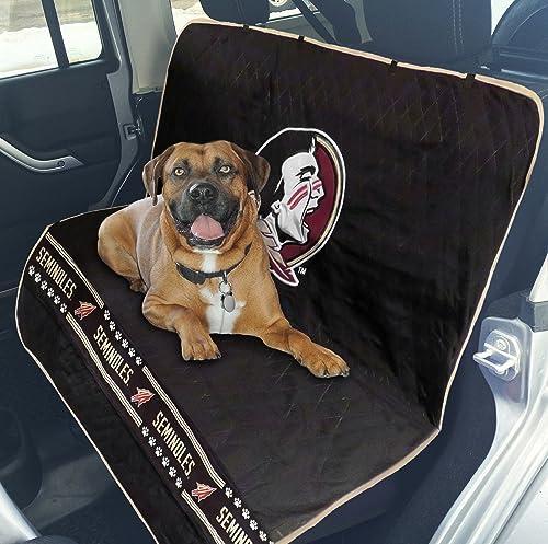 Pets First Collegiate Florida State Seminoles Pet Car Seat Cover FSU-3177