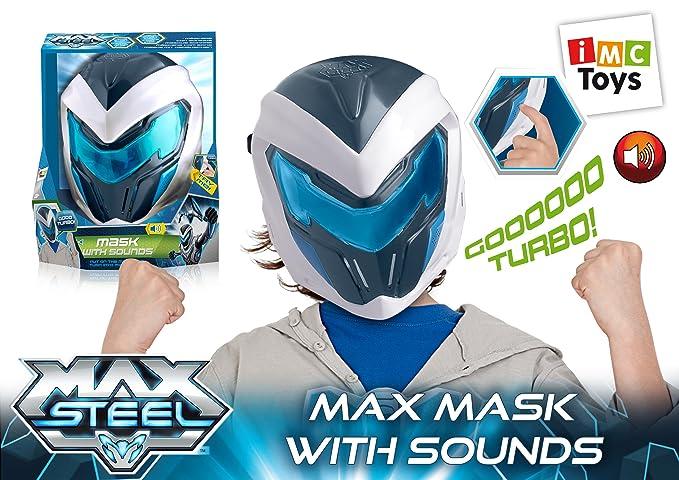 IMC Toys - Max Steel máscara con sonidos (21051): Amazon.es: Juguetes y juegos