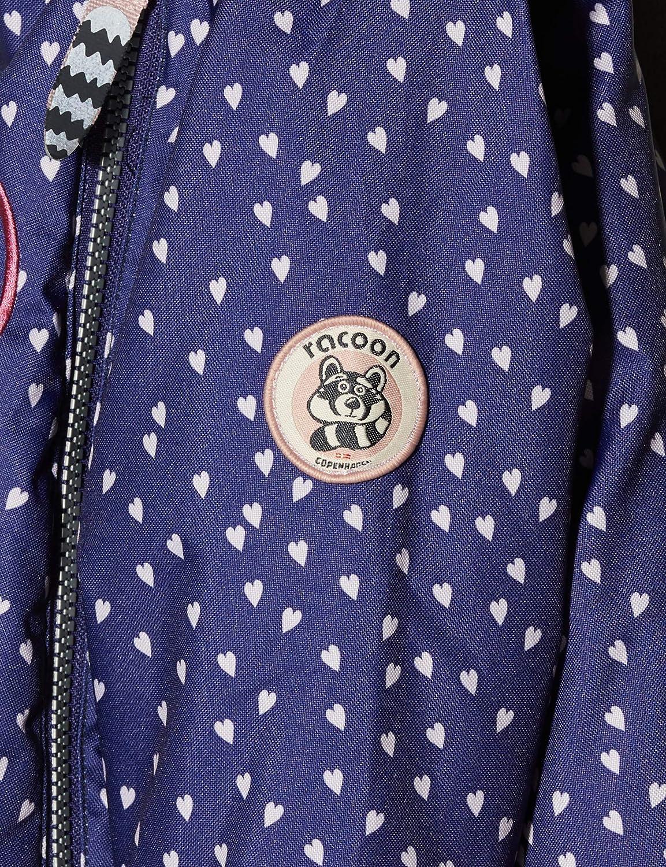Racoon Baby-M/ädchen Jacke