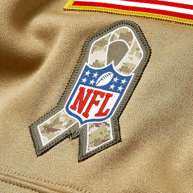 Nike Atlanta Falcons 2019 Mens NFL Salute to Service Tan Hoody