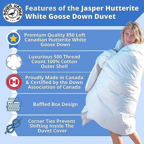 Canada Jasper 850 Loft Hutterite White