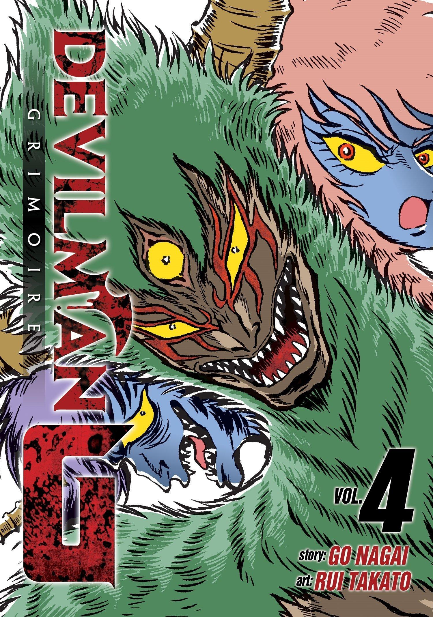 Devilman Grimoire Vol. 4 pdf epub
