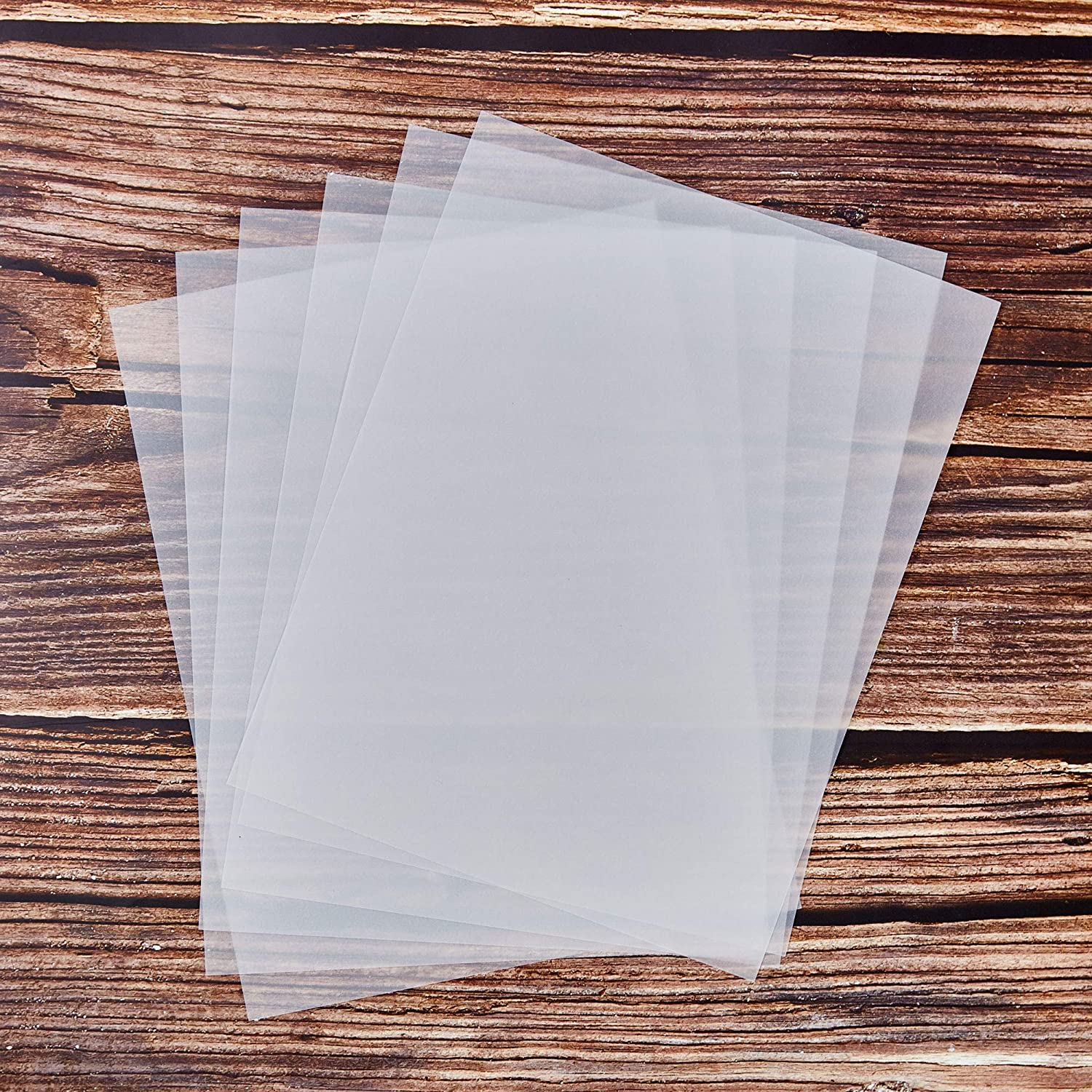 Printing 100-Sheet Vellum Paper Scrapbooking 8.5 x 11 Inches Transparent Clear Sketching Paper for Tracing Translucent Paper