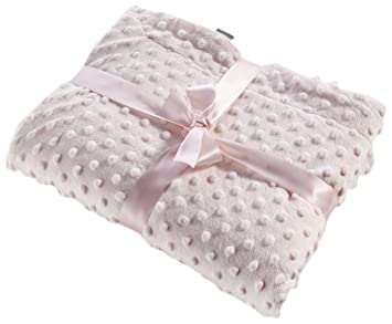 naf naf couverture bébé Naf Naf 80x110cm Little Dots Blanket (Pink): Amazon.co.uk: Baby naf naf couverture bébé