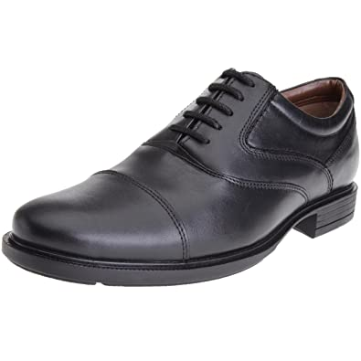 Hush Puppies Rockford 3, Chaussures à lacets homme - Noir (Black Leather),